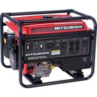 Gerador Monofásico 6700W Á Gasolina Mge 6700Z Mitsubishi