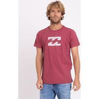 Camiseta Billabong Originals Secret Masculina - Masculino-Rosa