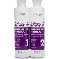 Escova Progressiva Pro Salon Let Me Be Supreme Liss Control 2X1000Ml