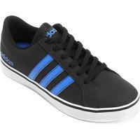 fe77e530090 ... Tênis Adidas Vs Pace Masculino - Masculino-Preto+Azul