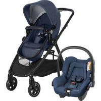 Carrinho De Bebê Travel System Anna Trio Maxi Cosi Nomad Azul