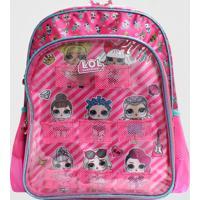 Mochila Lol Surprise Infantil Grande Luxcel Pink (Pink, G)
