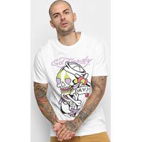 Camiseta Ed Hardy Sailor Skull Masculina - Masculino