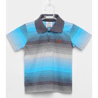 Camisa Polo Infantil Up Baby Listrada Masculina - Masculino