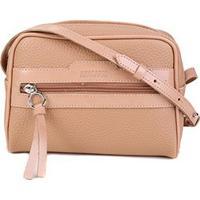 Bolsa Anacapri Mini Bag Eco Ravena Calf Feminina - Feminino-Nude