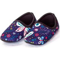 Sapato De Neoprene Infantil Fit Borboleta Ufrog Azul