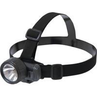 Lanterna De Cabeça Com 2 Fitas Elásticas Ntk Skiper Aqua Preto