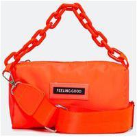 Bolsa Transversal Pequena Camera Bag Com Corrente