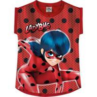 Blusa Ladybug® Menina Malwee Kids