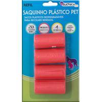 Refil Saquinho Plástico Pet Batiki Cores Sortidas Com 4 Bobinas