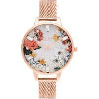 Relógio Olivia Burton Feminino Aço Rosé - Ob16Bf28