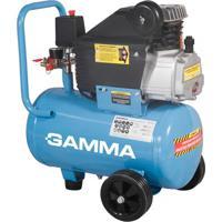 Compressor De Ar 2Hp 24 Litros 110V Azul