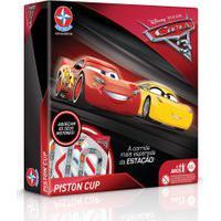 Jogo De Tabuleiro - Disney - Pixar - Carros 3 - Estrela