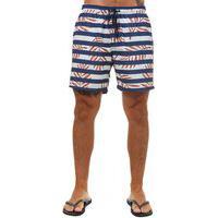 Shorts Docthos Stretch Listrado Shorts Docthos Stretch Listrado 012 Azul Eg