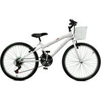 Bicicleta Aro 24 Serena Plus 21 Marchas Master Bike - Unissex