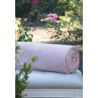 Cobertor Microfibra Rosa - Scavone - Rosa - Dafiti