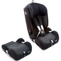 Cadeira Para Automã³Vel Voyage Fusion- Preta & Vermelha