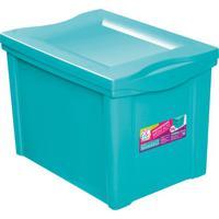 Caixa Organizadora Color- Verde ÁGua- 30,7X30,5X42,5Ordene