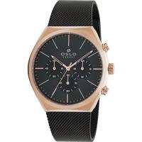 Relógio Oslo Masculino - Omtsscvd0003 G1Gx - Rosé