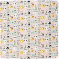 Fendi Kids Cobertor 'Fendi Fun' - Nude & Neutrals
