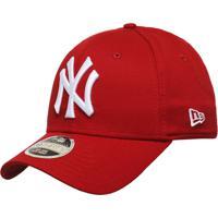 38cf3e37773f1 Netshoes  Boné New Era Aba Curva Fechado Mlb Ny Yankees Colo - Unissex
