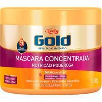 Máscara Nutritiva Niely Gold Nutrição Poderosa 430G - Unissex-Incolor