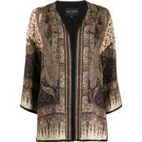 Etro Kimono Com Estampa Paisley - Neutro