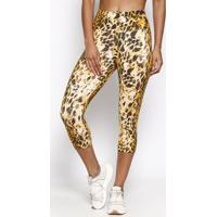 Legging Animal- Preta & Bege- Physical Fitnessphysical Fitness
