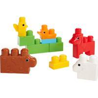 Maxibloks Mega Bloks Fazenda Multicolorido