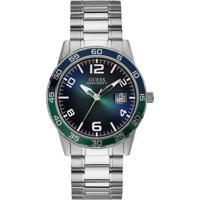 cb2dbe7540d Relógio Guess Masculino Aço - W1172G2