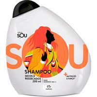 Shampoo Enxágue Express Secos & Ressecados Sou - 200Ml