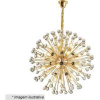 Lustre Wish- Incolor & Dourado- 71Xã˜75Cm- Bivolthevvy