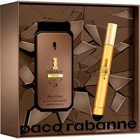Kit Perfume Masculino 1 Million Privé Paco Rabanne Eau De Parfum 50Ml + Miniatura 10Ml - Masculino