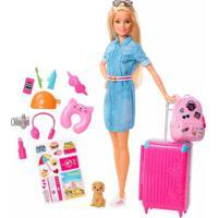 Boneca Barbie Viajante Unica