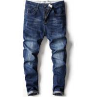 Calça Jeans Masculina Slim - Azul