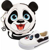 Kit Infantil Tênis E Bolsa Panda, Magicc Kids