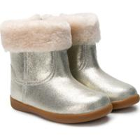 Ugg Kids Round Toe Ankle Boots - Metálico
