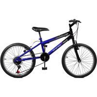 Bicicleta Master Bike Aro 20 Masculina Ciclone Plus Azul