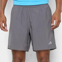 Short Adidas Run It Masculino - Masculino-Chumbo