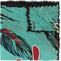 Zadig&Voltaire Echarpe 'Delta Paradise' - Verde