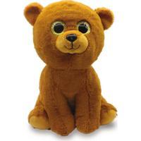 Urso De Pelúcia 23 Cm - Marrom - Unik Toys