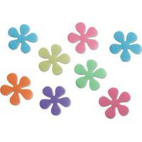 Flores Antiderrapantes Para Box Interdesign 10Cm 8 Peças - 22766
