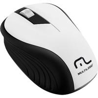 Mouse Sem Fio 2.4Ghz Preto E Branco 1200 Dpi Mo216 Multilaser