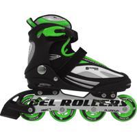 Patins Rollers Bxtreme Inline Bel Sports Verde 36