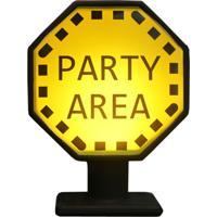 Luminária Casa Da Mãe Joana Placa Party Area