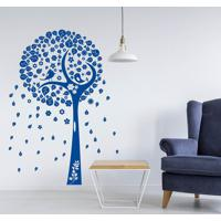 Adesivo De Parede Árvore Folhas