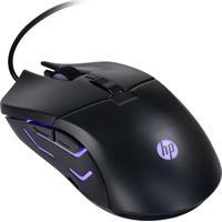 Mouse Gamer Óptico Hp G260 Usb 2400 Dpi 6 Botões Preto