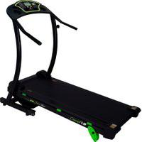 Esteira Eletrônica Dream Fitness Concept 1.8 6 Funções Bivolt Preta