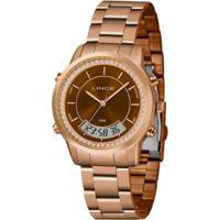 Relógio Lince Anadigi Lar4640Ln1Rx Feminino - Feminino-Dourado