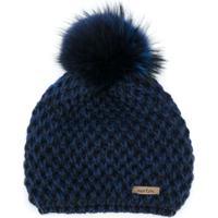 Norton Pom Pom Hat - Azul